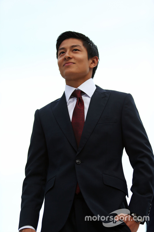Rio Haryanto, Manor Racing en el Amber Lounge Fashion Show