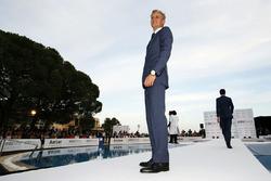 Marcus Ericsson, Sauber F1 Team all'Amber Lounge Fashion Show