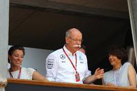 Dr. Dieter Zetsche, Daimler-Chef, mit Tochter Nora