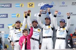 Sieger: #4 AMG-Team Black Falcon, Mercedes-AMG GT3: Bernd Schneider, Maro Engel, Adam Christodoulou, Manuel Metzger