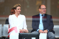 HSH Prince Albert of Monaco, with his wife Princess Charlene of Monaco