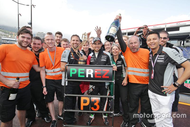 81 pilotos subieron al podio de Mónaco