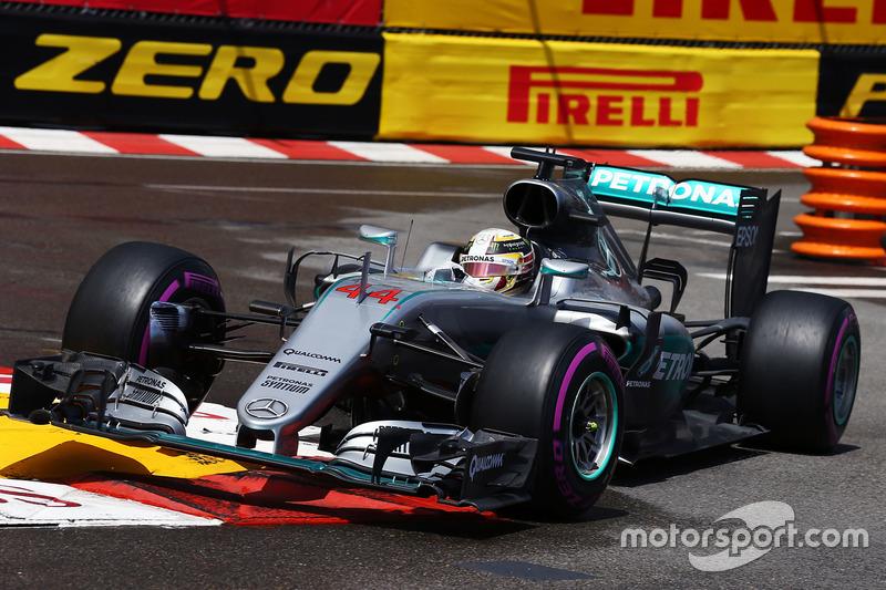 Monaco, Monte Carlo: Lewis Hamilton (Mercedes)