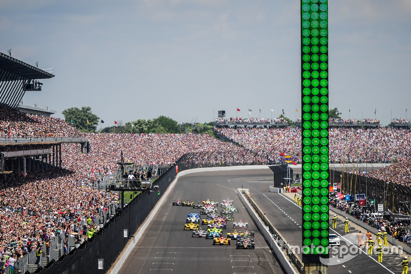 IndyCar «Индианаполис 500»: онлайн