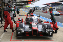 #8 Audi Sport Team Joest,Audi R18 e-tron quattro: Lucas di Grassi, Loic Duval, Oliver Jarvis