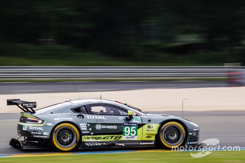9. LMGTE-Pro: #95 Aston Martin Racing, Aston Martin Vantage