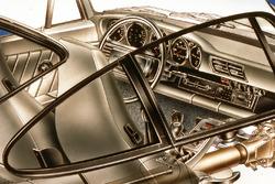 Porsche 959, lo sterzo