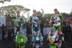 Podyum: 2. Martin Jessop, Kawasaki, 1. Ivan Lintin, Kawasaki, 3.  James Hillier, Kawasaki