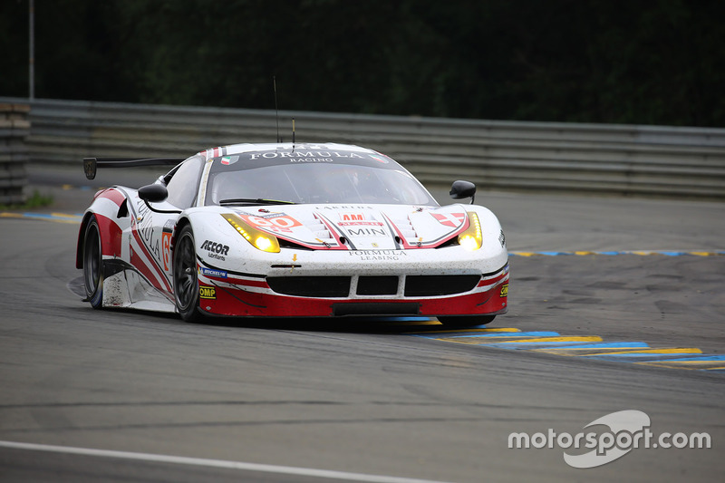7. LMGTE-Am: #60 Formula Racing, Ferrari 458 Italia