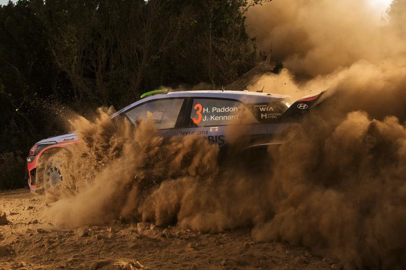 Хейден Пэддон и Джон Кеннард, Hyundai i20 WRC, Hyundai Motorsport