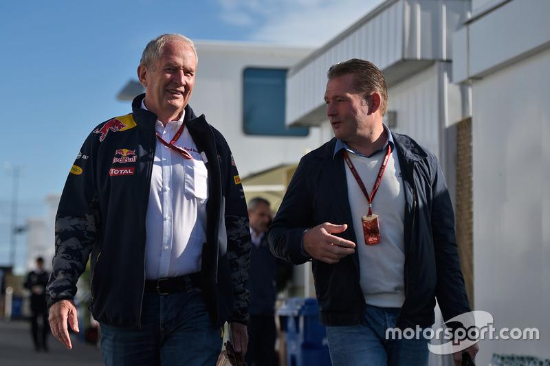 Dr Helmut Marko, Red Bull Motorsport Consultor con Jos Verstappen