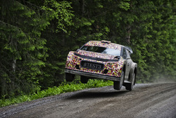 Kris Meeke prova la Citroën C3 WRC 2017