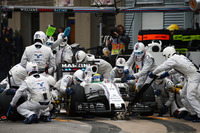 Felipe Massa, Williams FW38 beim Boxenstopp