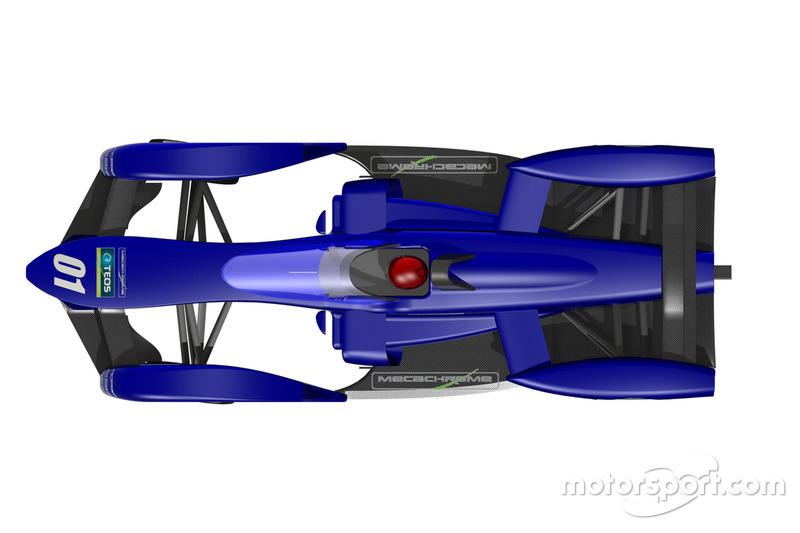 TEOS Formula E chasis propuesto