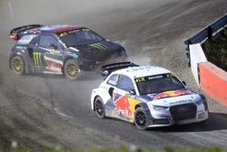 Mattias Ekstrテカm, EKS RX; Petter Solberg, Petter Solberg World RX Team