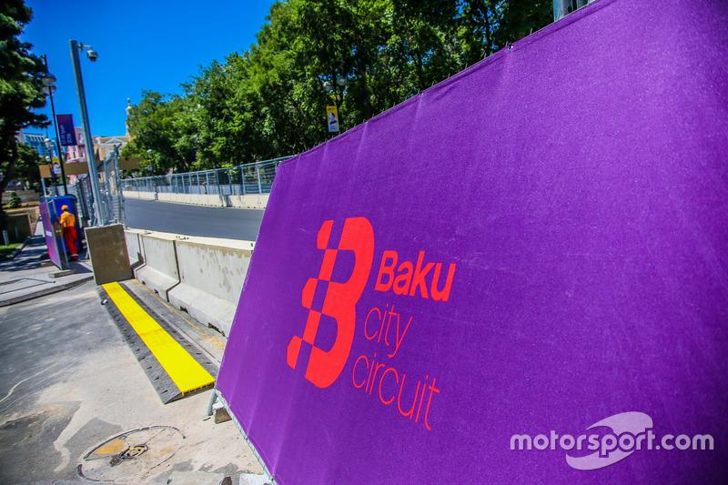 Baku, il circuito cittadino