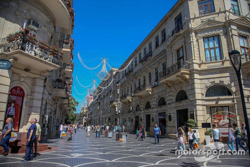 L'atmosphère de Bakou