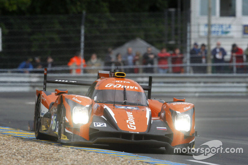 9: (Поул LMP2) ORECA 05 Nissan команды G-Drive Racing : Роман Русинов, Рене Раст, Уилл Стивенс