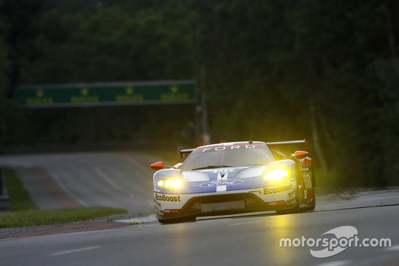 Джой Хенд, Дирк Мюллер, Себастьен Бурдэ, #68 Ford Chip Ganassi Racing Ford GT