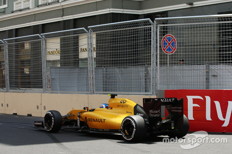 Jolyon Palmer, Renault Sport F1 Team RS16 va largo