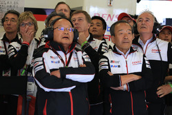 Toyota Racing team members