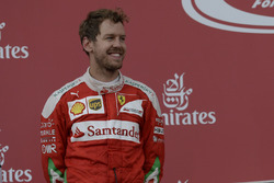 2nd place Sebastian Vettel, Scuderia Ferrari