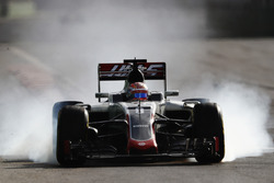 Verbremser: Romain Grosjean, Haas F1 Team VF-16