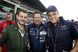 #95 Aston Martin Racing Aston Martin Vantage: Marco Sorensen con Jan Struve, Nicki Thiim y piloto de la fuerza aérea francesa