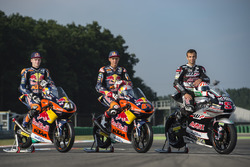 Bo Bendsneyder, Red Bull KTM Ajo, Brad Binder, Red Bull KTM Ajo and Johann Zarco, Ajo Motorsport