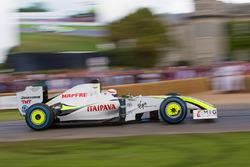 Brawn-Mercedes BGP 001- Martin Brundle