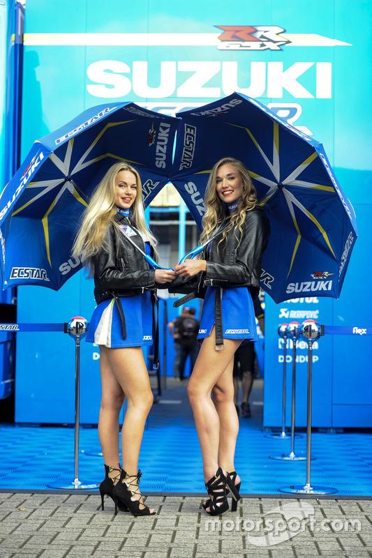Hermosas chicas de Suzuki