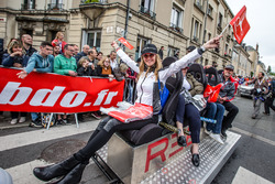 Gridgirl von Rebellion Racing