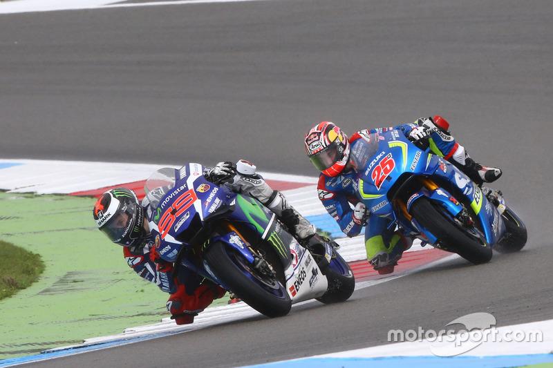 Jorge Lorenzo, Yamaha Factory Racing e Maverick Viñales, Team Suzuki MotoGP
