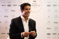 Lucas di Grassi at the FIA Sport Conference