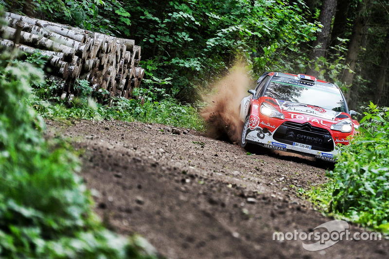 Стефан Лефевр, Габін Моро, Citroën DS3 WRC, Abu Dhabi Total World Rally Team