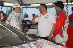Stéphane Lefebvre, Citroën DS3 WRC, Abu Dhabi Total World Rally Team with Yves Matton, Citroën Motorsport Director