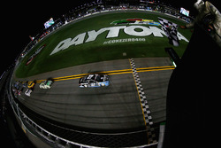 Brad Keselowski, Team Penske Ford takes checkered flag