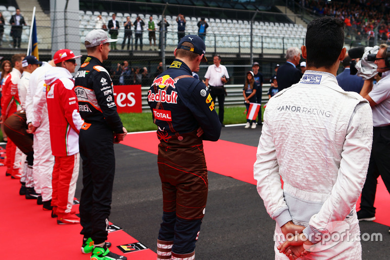 Pascal Wehrlein, Max Verstappen, Nico Hulkenberg...