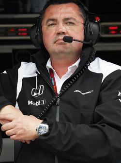 Eric Boullier, McLaren Jefe de equipo