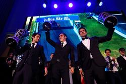 Николя Прост, Себастьен Буэми и Лукас ди Грасси, Formula E Awards Gala