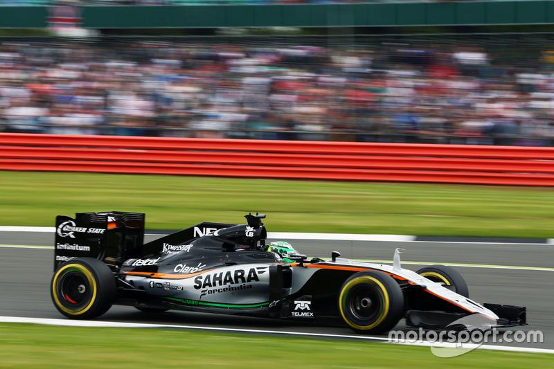8: Nico Hulkenberg, Sahara Force India F1 VJM09