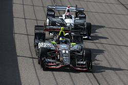Sébastien Bourdais, KV Racing Technology Chevrolet, Alexander Rossi, Herta - Andretti Autosport Honda