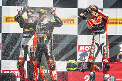Podium: Sieger Tom Sykes, Kawasaki Racing