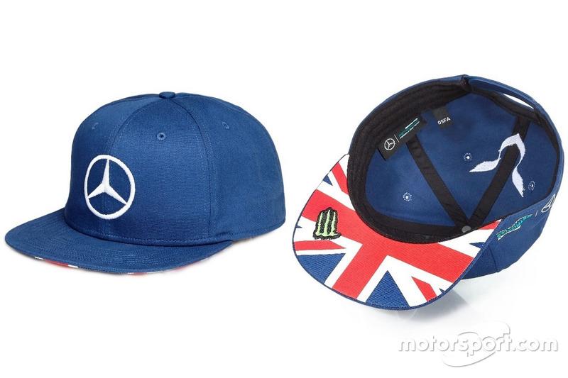 """Gorra Mercedes, Lewis Hamilton edición especial """"GP de Gran Bretaña 2016"""""""