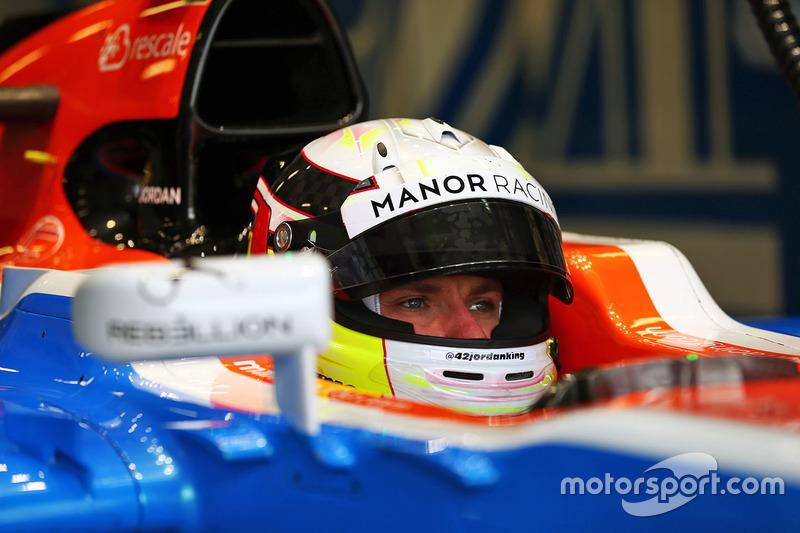 Jordan King, Manor Racing MRT05 Development Driver