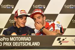 Marc Marquez, Repsol Honda Team e Andrea Iannone, Ducati Team