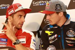 Andrea Iannone, Ducati Team e Jack Miller, Marc VDS Racing Honda