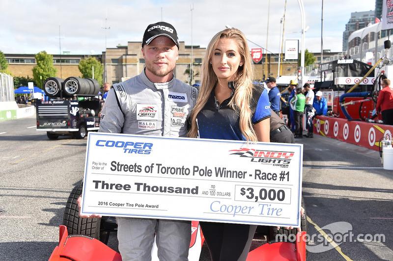 Ganador de la carrera Felix Rosenqvist, Belardi Auto Racing