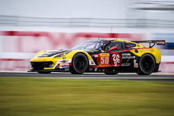 #50 Larbre Competition, Corvette C7.R: Paolo Ruberti, Yutaka Yamagishi, Pierre Ragues