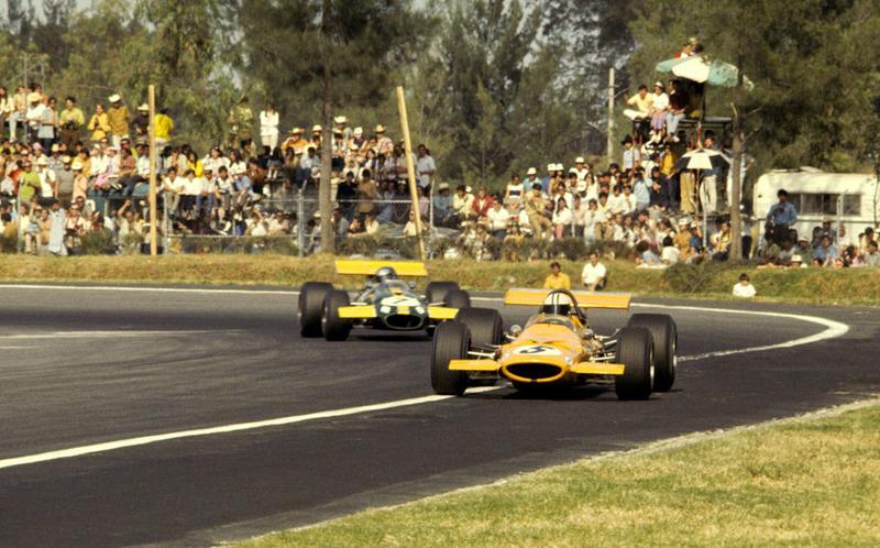 1969 год. Денни Хьюм, McLaren